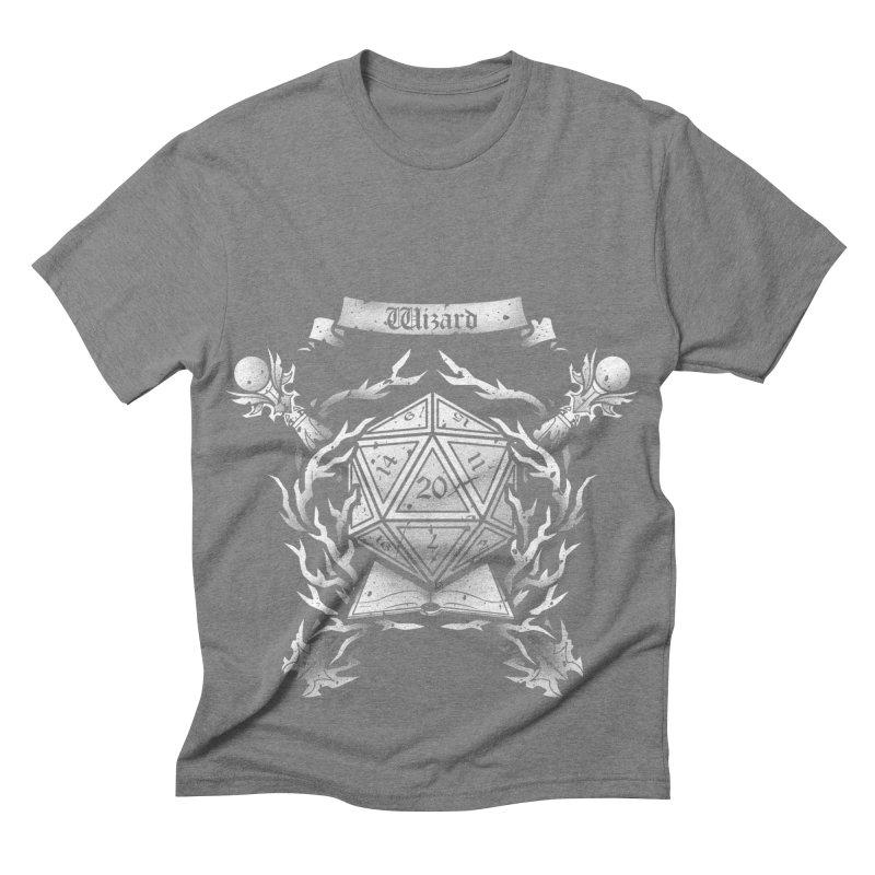 Wizard Crest Men's Triblend T-shirt by letterq's Artist Shop