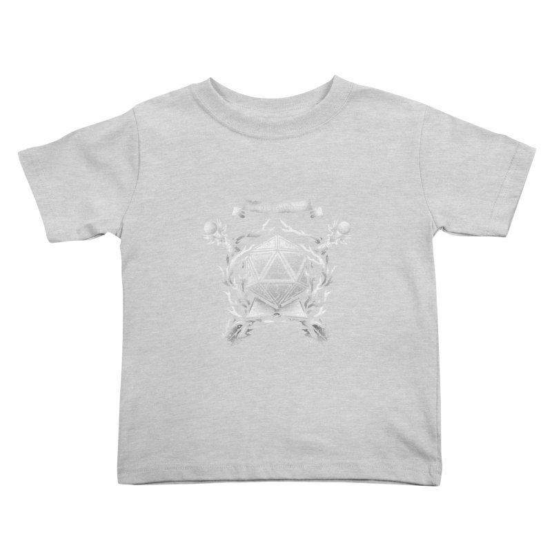 Wizard Crest Kids Toddler T-Shirt by letterq's Artist Shop