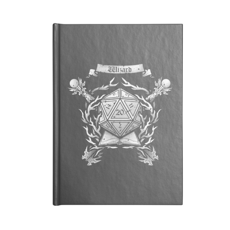 Wizard Crest Accessories Notebook by letterq's Artist Shop