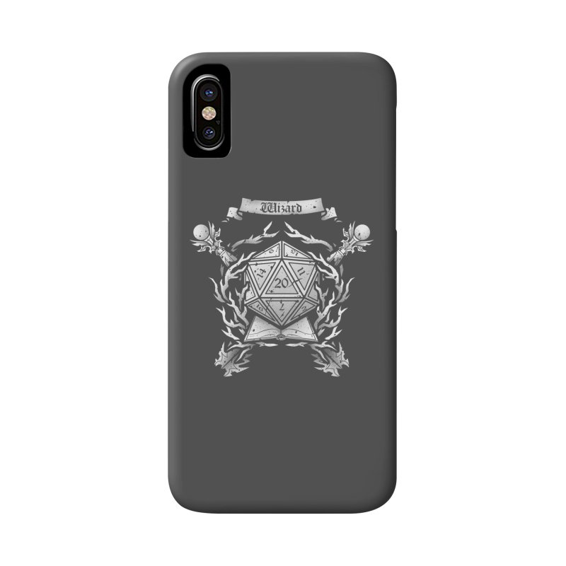 Wizard Crest Accessories Phone Case by letterq's Artist Shop