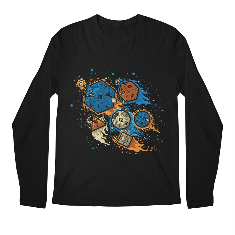 RPG United Remix Men's Longsleeve T-Shirt by letterq's Artist Shop