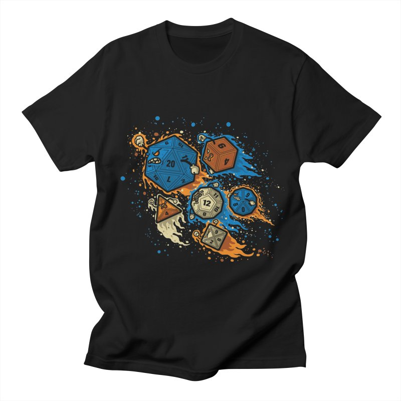 RPG United Remix Men's T-shirt by letterq's Artist Shop