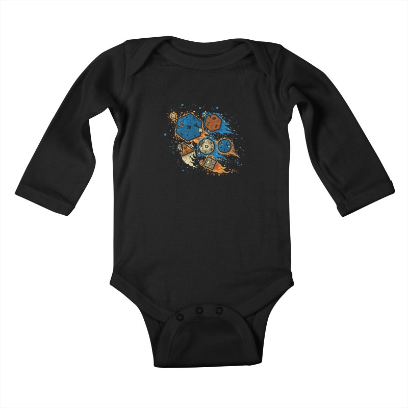 RPG United Remix Kids Baby Longsleeve Bodysuit by letterq's Artist Shop