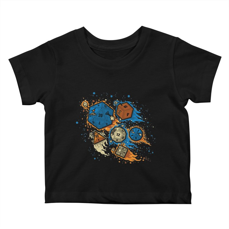 RPG United Remix Kids Baby T-Shirt by letterq's Artist Shop