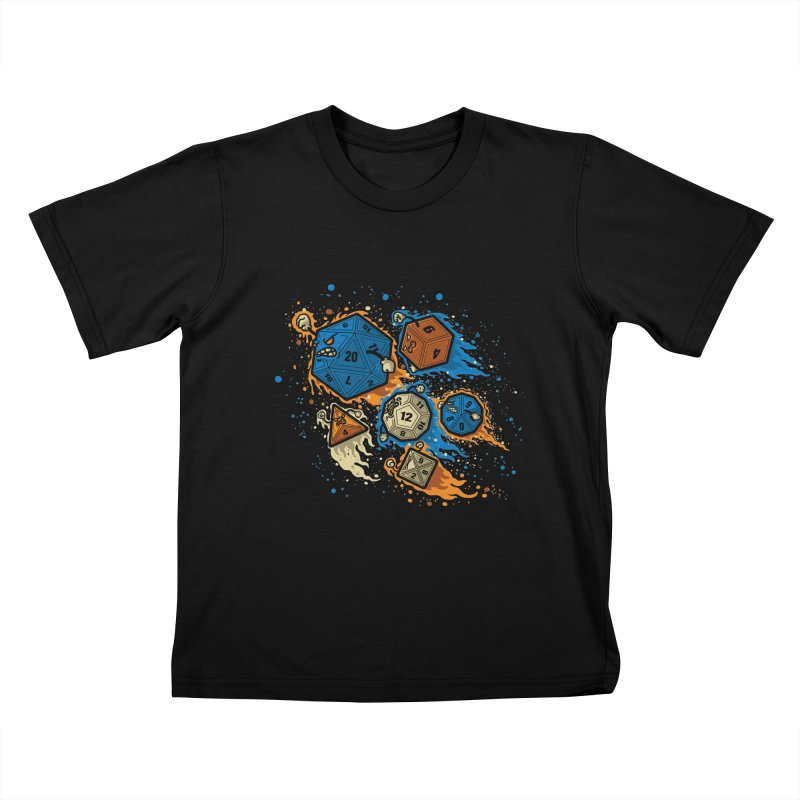 RPG United Remix Kids T-shirt by letterq's Artist Shop
