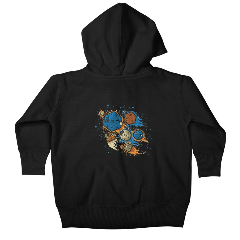 RPG United Remix Kids Baby Zip-Up Hoody by letterq's Artist Shop