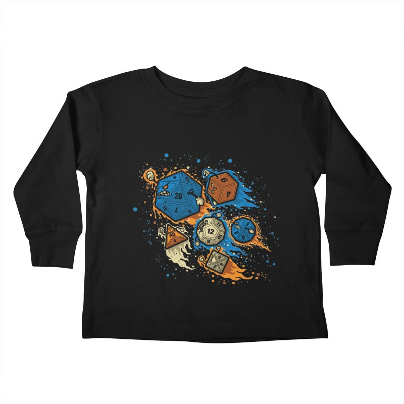 RPG United Remix Kids Toddler Longsleeve T-Shirt by letterq's Artist Shop