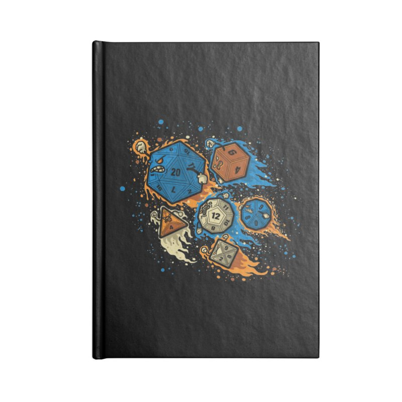 RPG United Remix Accessories Notebook by letterq's Artist Shop