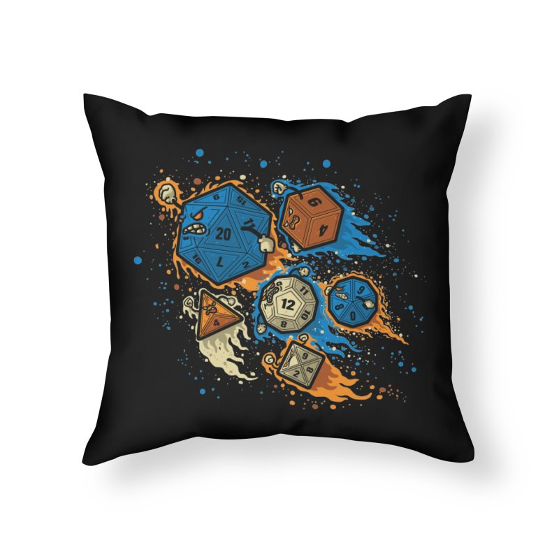 RPG United Remix Home Throw Pillow by letterq's Artist Shop