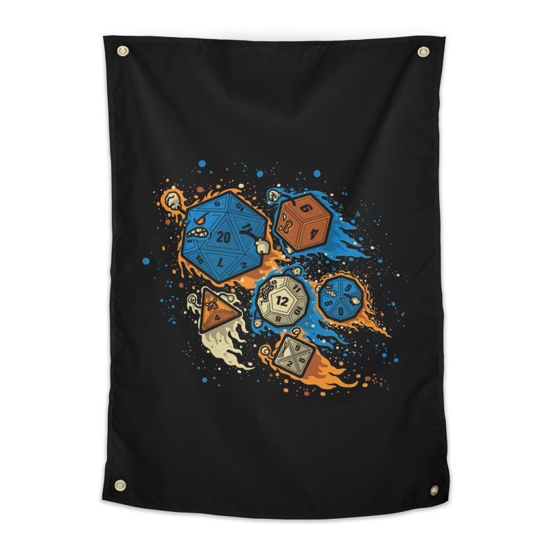 RPG United Remix Home Tapestry by letterq's Artist Shop