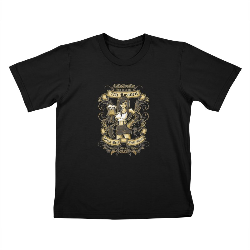 7th Heaven Kids Toddler T-Shirt by letterq's Artist Shop