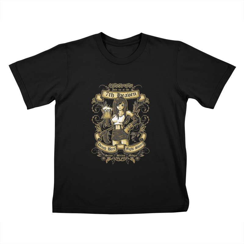 7th Heaven Kids T-shirt by letterq's Artist Shop