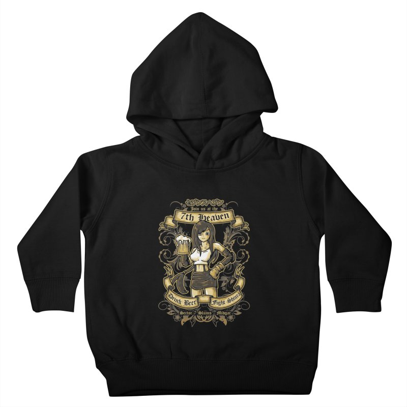 7th Heaven Kids Toddler Pullover Hoody by letterq's Artist Shop