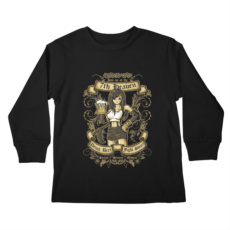 7th Heaven Kids Longsleeve T-Shirt by letterq's Artist Shop