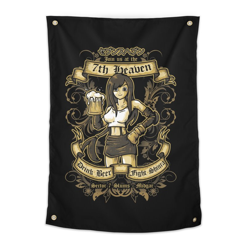 7th Heaven Home Tapestry by letterq's Artist Shop