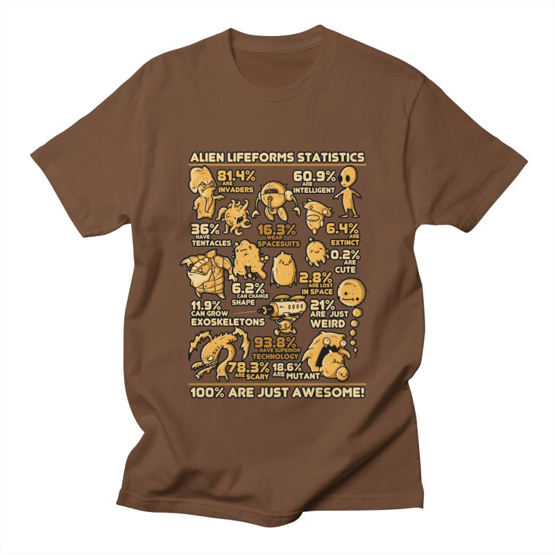 Alien Statistics Women's Unisex T-Shirt by letterq's Artist Shop