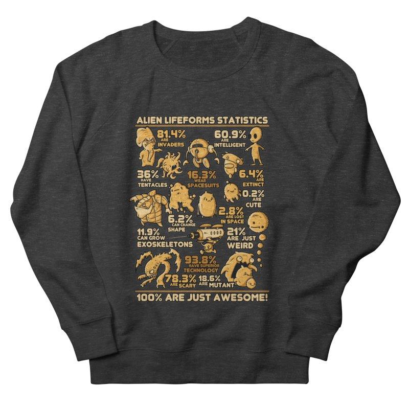 Alien Statistics Men's Sweatshirt by letterq's Artist Shop