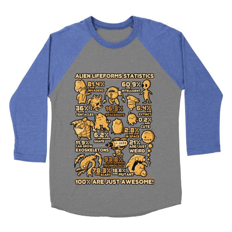 Alien Statistics Women's Baseball Triblend T-Shirt by letterq's Artist Shop