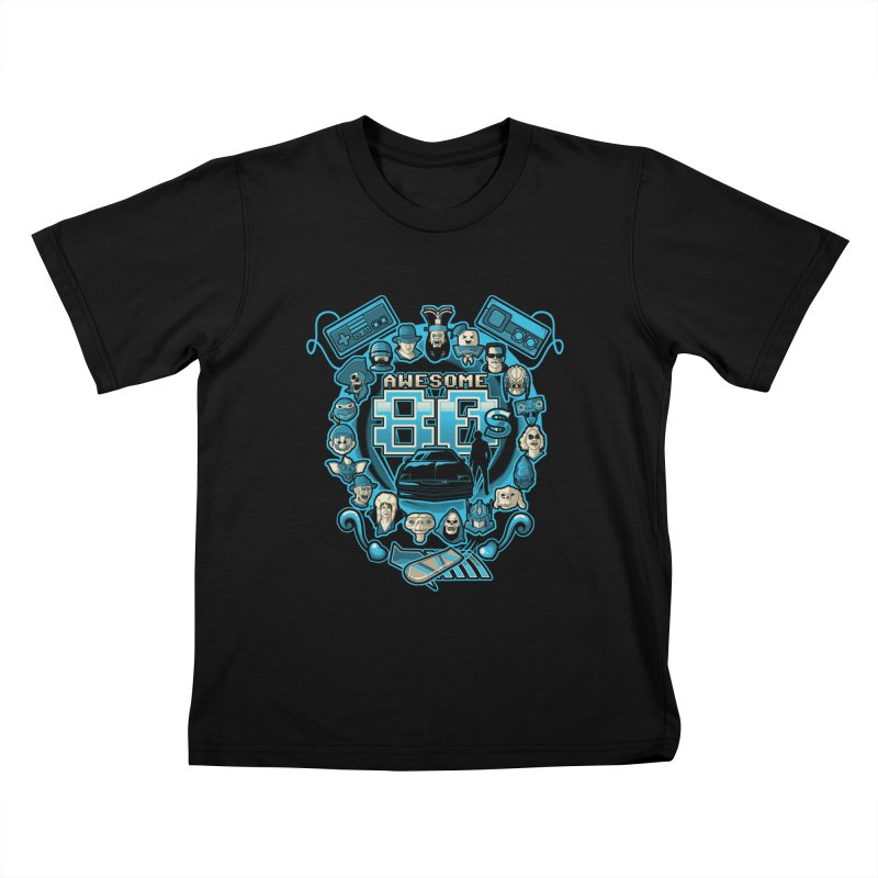 Awesome 80s Kids T-shirt by letterq's Artist Shop