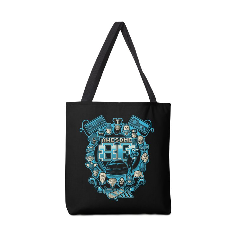 Awesome 80s Accessories Bag by letterq's Artist Shop