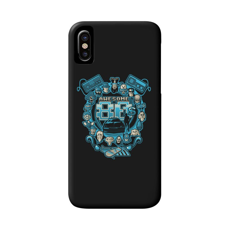 Awesome 80s Accessories Phone Case by letterq's Artist Shop