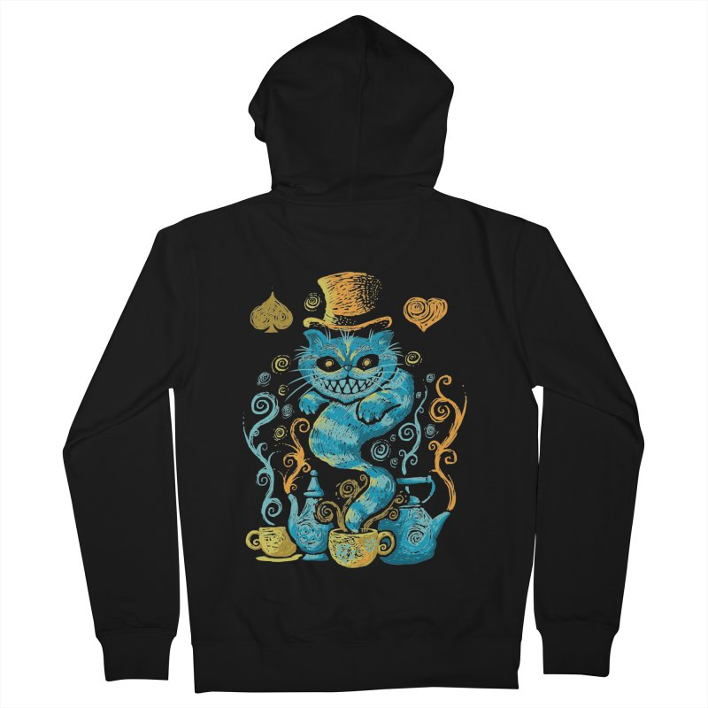 Wonderland Impressions Women's Zip-Up Hoody by letterq's Artist Shop