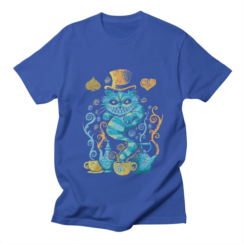 Wonderland Impressions Men's T-shirt by letterq's Artist Shop