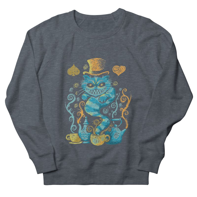 Wonderland Impressions Men's Sweatshirt by letterq's Artist Shop