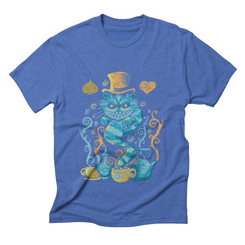 Wonderland Impressions Men's Triblend T-Shirt by letterq's Artist Shop