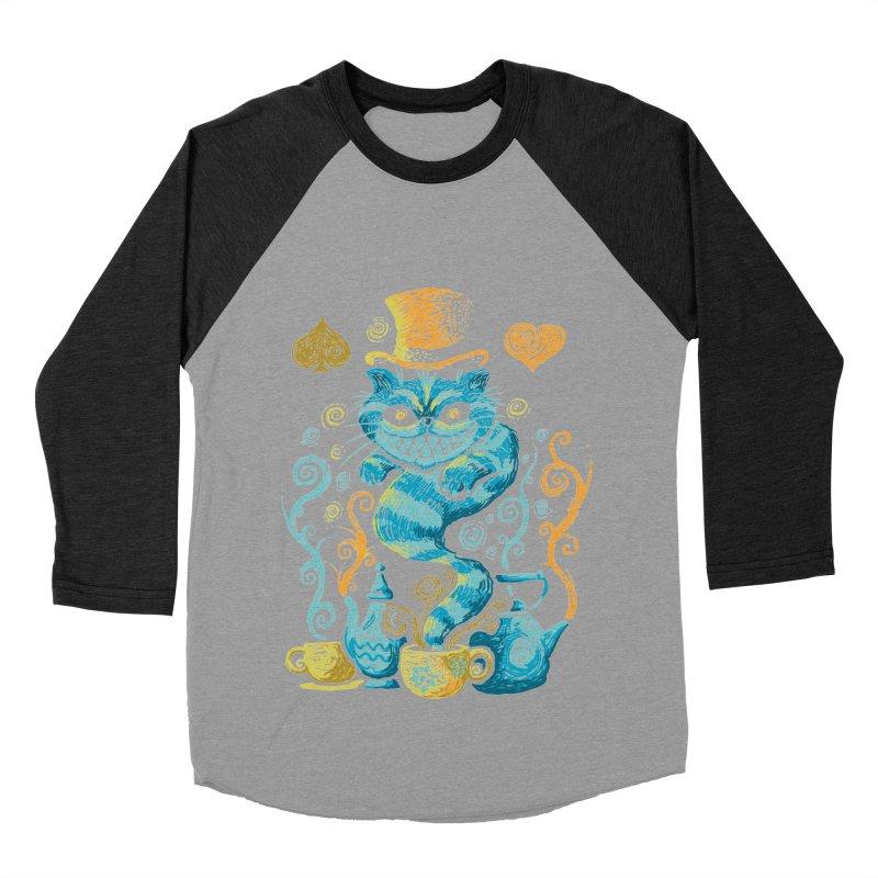 Wonderland Impressions Women's Baseball Triblend T-Shirt by letterq's Artist Shop