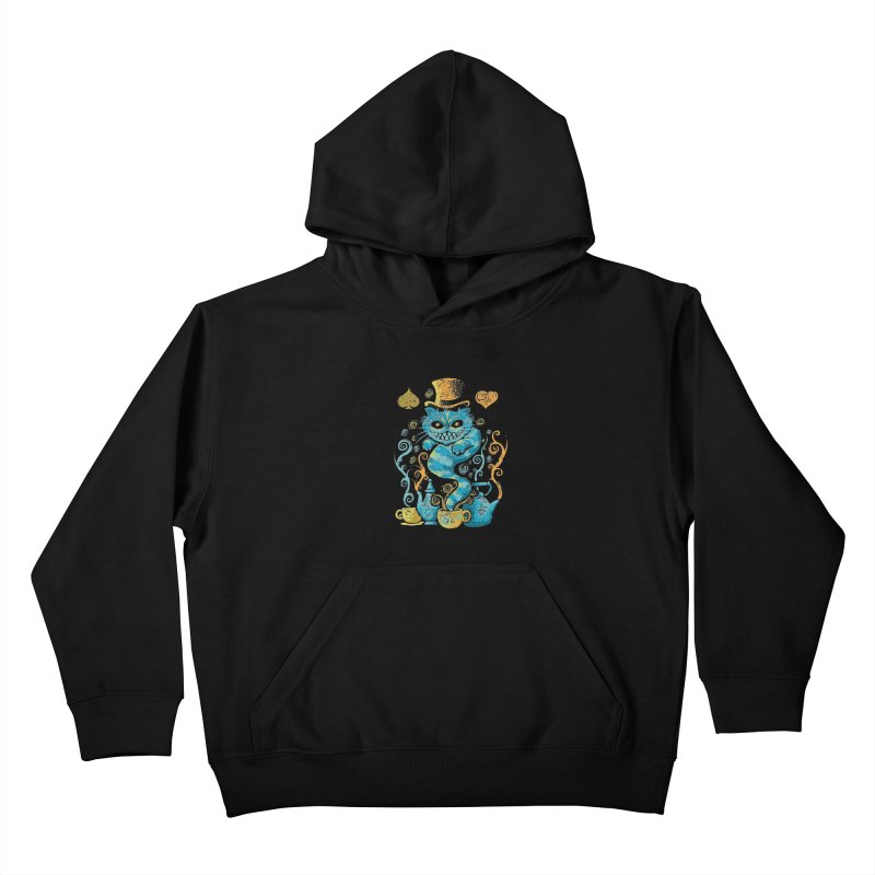 Wonderland Impressions Kids Pullover Hoody by letterq's Artist Shop