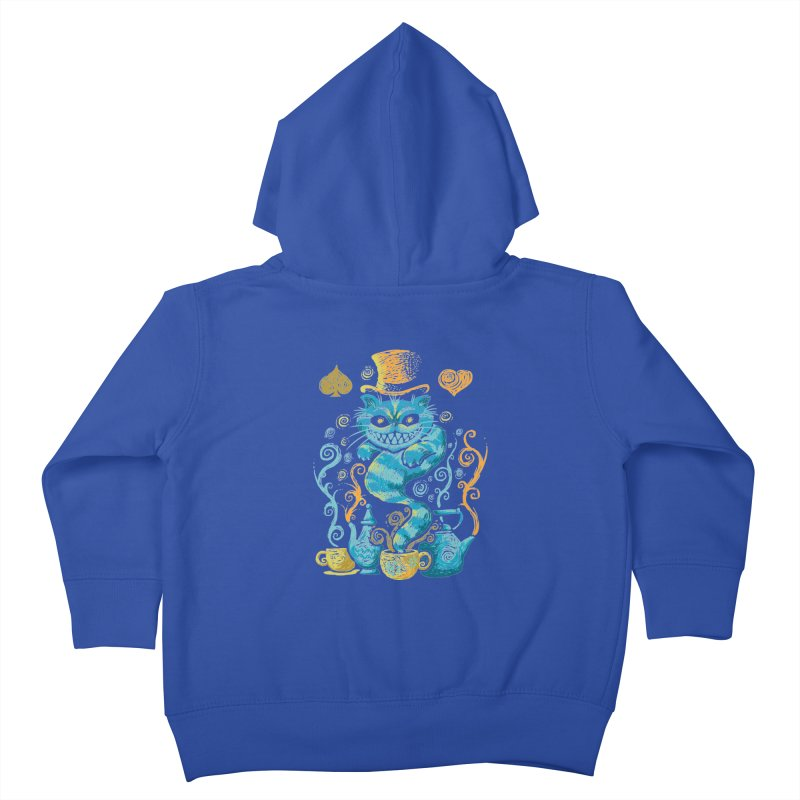 Wonderland Impressions Kids Toddler Zip-Up Hoody by letterq's Artist Shop
