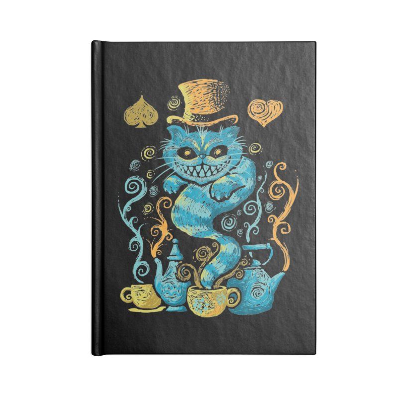 Wonderland Impressions Accessories Notebook by letterq's Artist Shop
