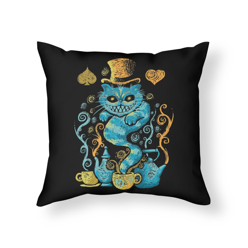 Wonderland Impressions Home Throw Pillow by letterq's Artist Shop