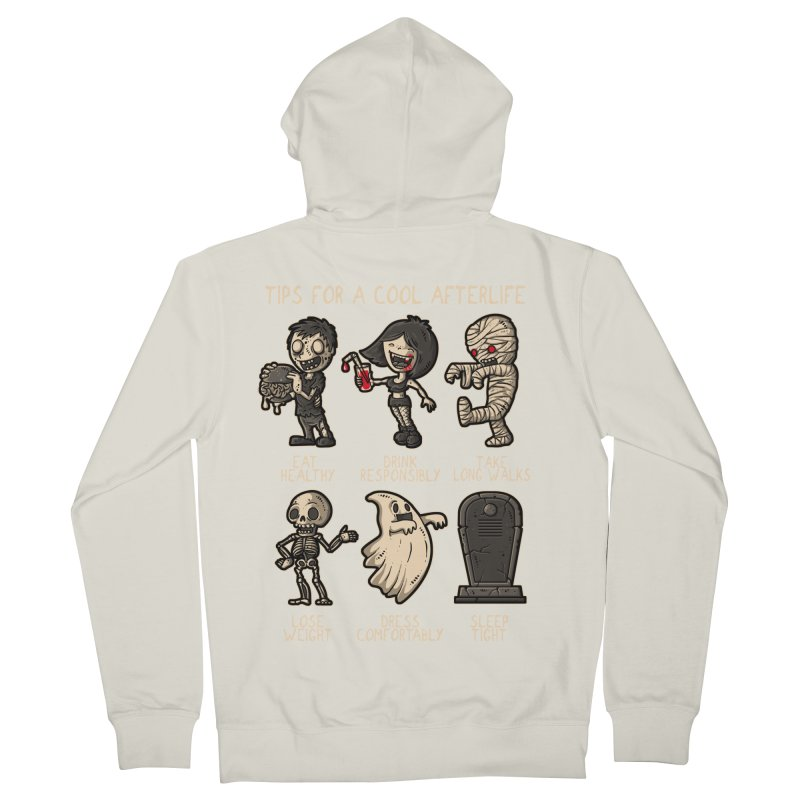 Cool Afterlife Women's Zip-Up Hoody by letterq's Artist Shop