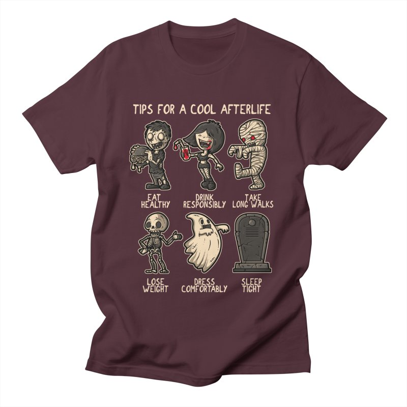 Cool Afterlife Women's Unisex T-Shirt by letterq's Artist Shop