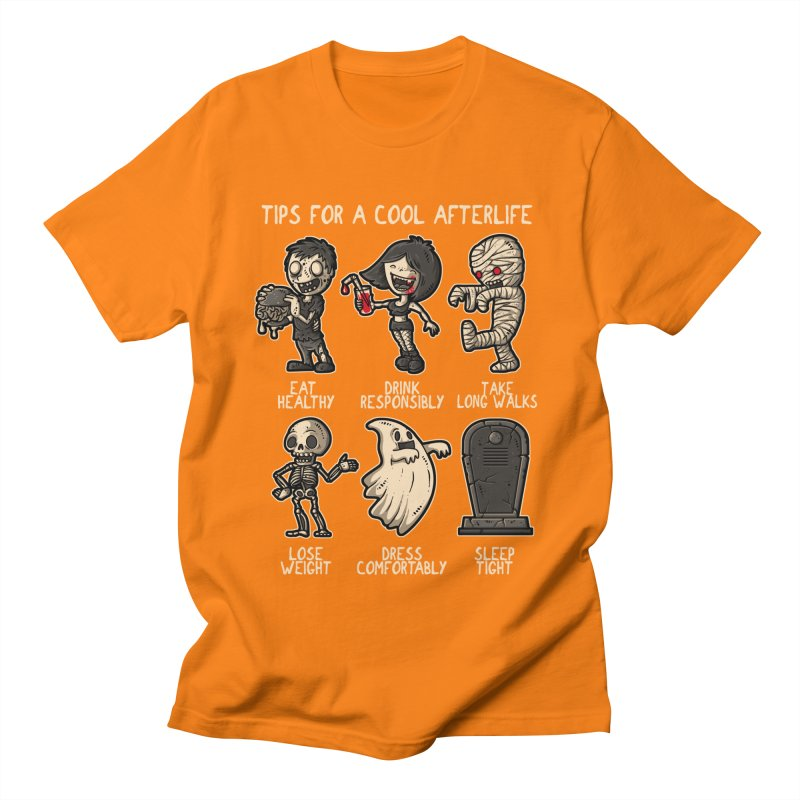 Cool Afterlife Men's T-shirt by letterq's Artist Shop