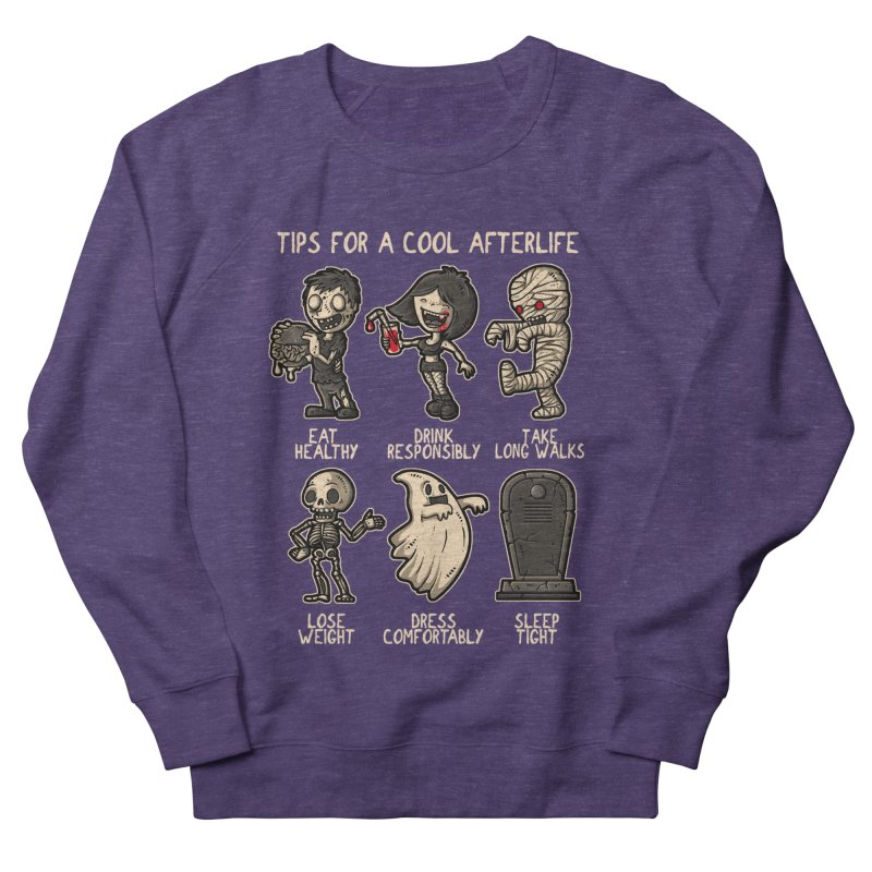 Cool Afterlife Men's Sweatshirt by letterq's Artist Shop