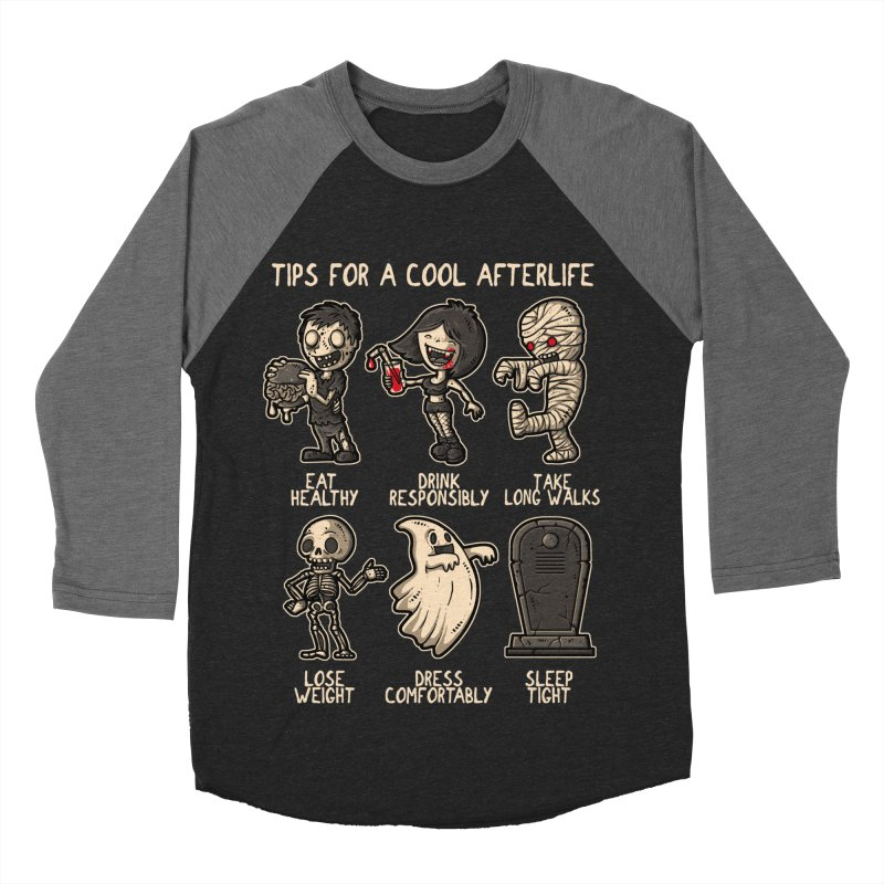 Cool Afterlife Women's Baseball Triblend T-Shirt by letterq's Artist Shop