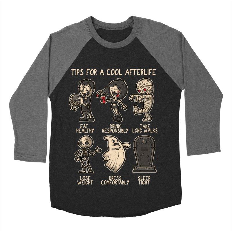 Cool Afterlife Men's Baseball Triblend T-Shirt by letterq's Artist Shop