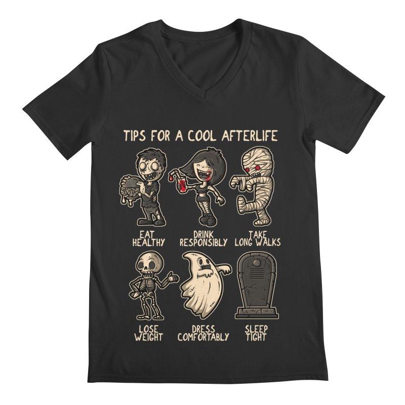 Cool Afterlife Men's V-Neck by letterq's Artist Shop
