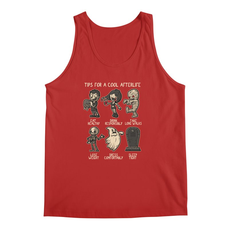 Cool Afterlife Men's Tank by letterq's Artist Shop