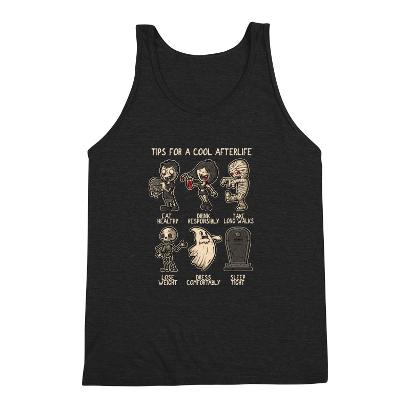 Cool Afterlife Men's Triblend Tank by letterq's Artist Shop