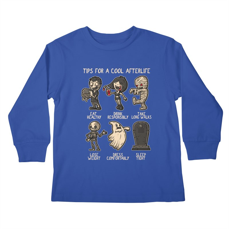 Cool Afterlife Kids Longsleeve T-Shirt by letterq's Artist Shop