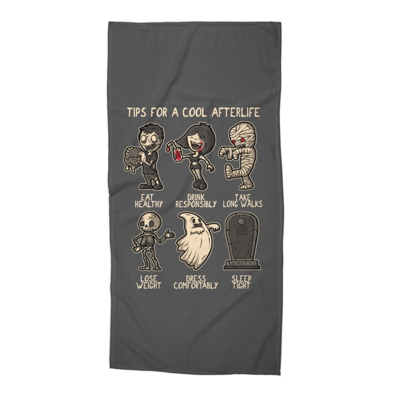 Cool Afterlife Accessories Beach Towel by letterq's Artist Shop