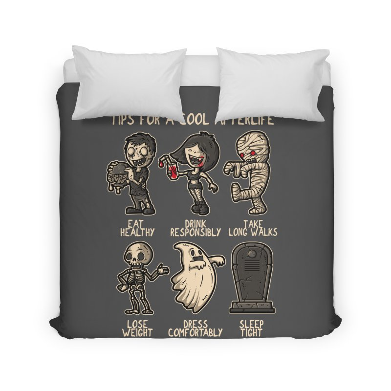 Cool Afterlife Home Duvet by letterq's Artist Shop