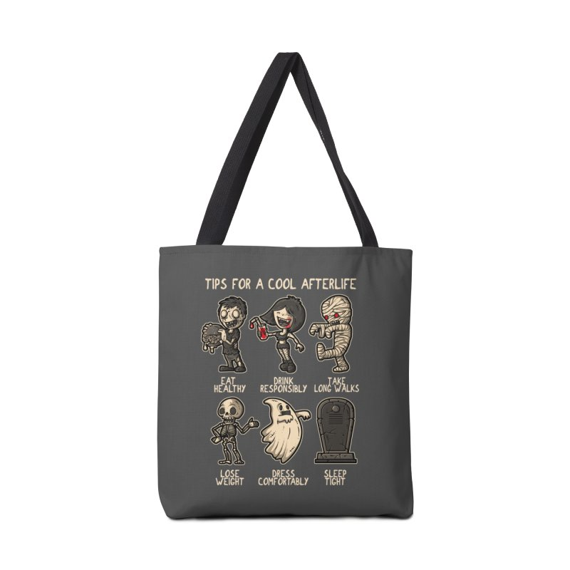 Cool Afterlife Accessories Bag by letterq's Artist Shop