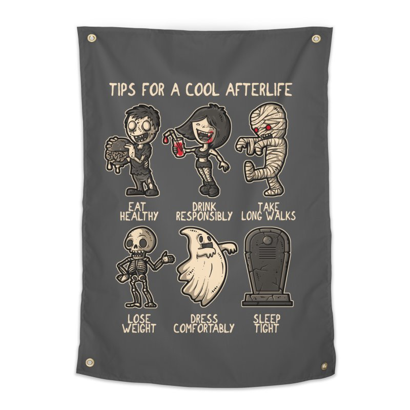 Cool Afterlife Home Tapestry by letterq's Artist Shop