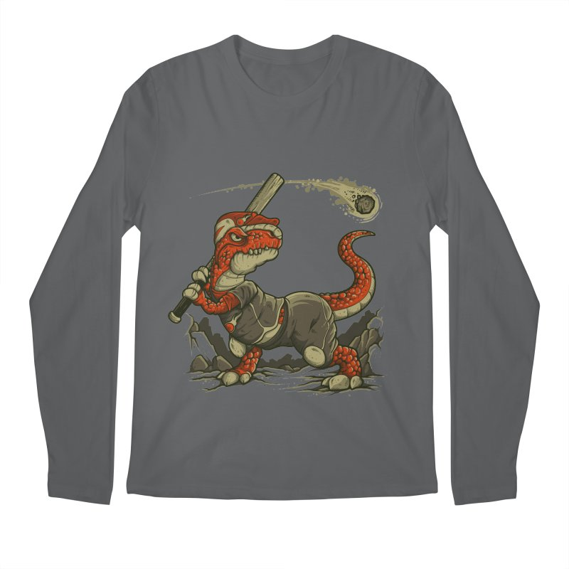 Fight The Asteroid Men's Longsleeve T-Shirt by letterq's Artist Shop