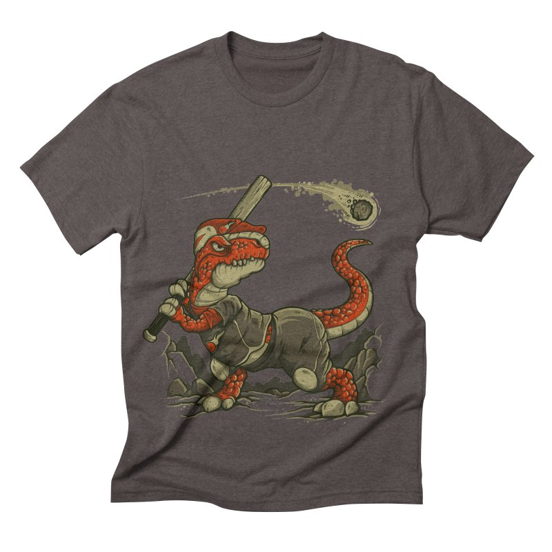 Fight The Asteroid Men's Triblend T-shirt by letterq's Artist Shop